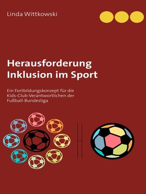 cover image of Herausforderung Inklusion im Sport