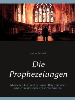 cover image of Die Prophezeiungen