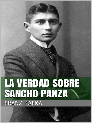 cover image of La verdad sobre Sancho Panza