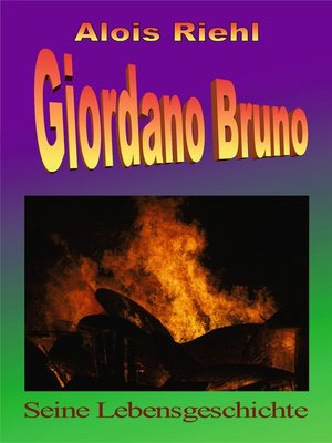cover image of Giordano Bruno