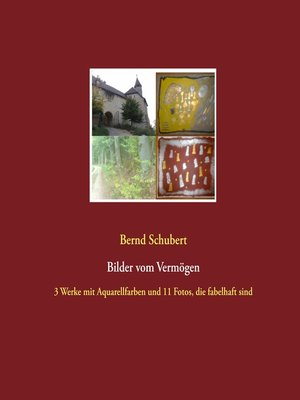 cover image of Bilder vom Vermögen