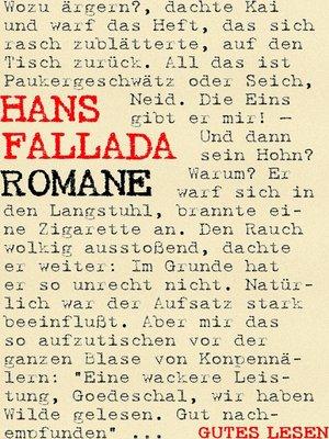 cover image of Hans Fallada--Romane