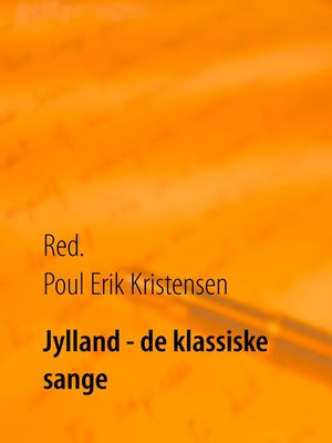 cover image of Jylland--de klassiske sange