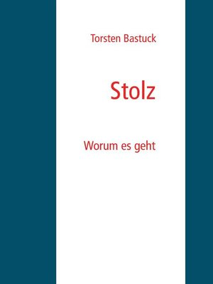 cover image of Stolz
