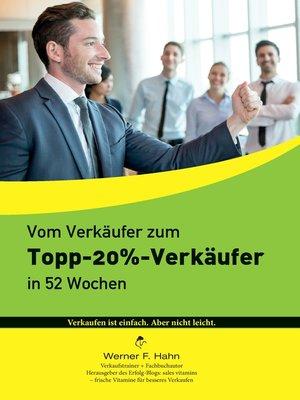 cover image of Vom Verkäufer zum Topp-20%-Verkäufer