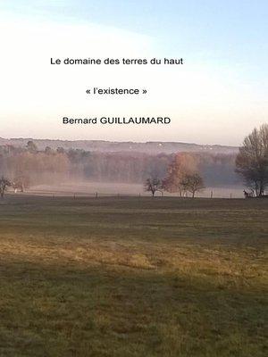 cover image of Le domaine des terres du haut