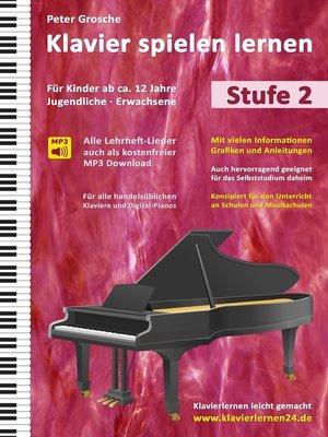 cover image of Klavier spielen lernen (Stufe 2)