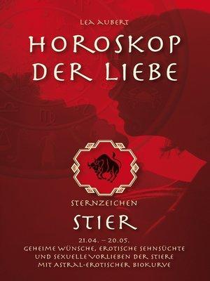 cover image of Horoskop der Liebe – Sternzeichen Stier