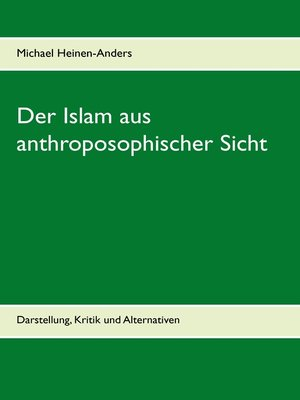 cover image of Der Islam aus anthroposophischer Sicht