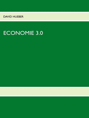 cover image of ECONOMIE 3.0