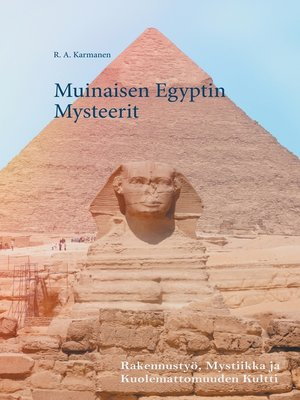 cover image of Muinaisen Egyptin Mysteerit
