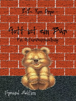 cover image of Gott ist ein Bär Die Osterüberraschung Special Edition
