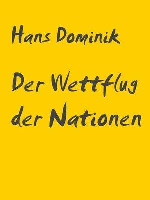 cover image of Der Wettflug der Nationen