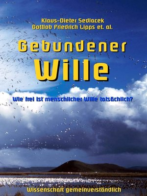 cover image of Gebundener Wille