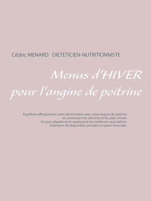 cover image of Menus d'hiver pour l'angine de poitrine