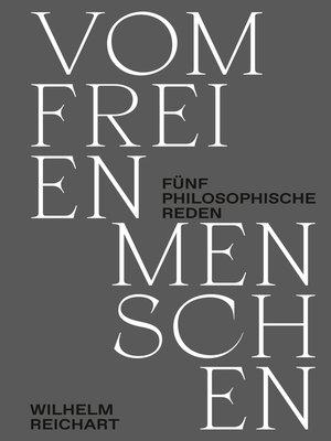 cover image of Vom freien Menschen