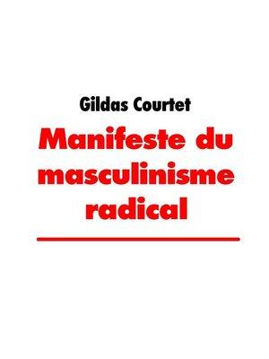 cover image of Manifeste du masculinisme radical