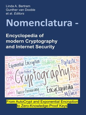 cover image of Nomenclatura--Encyclopedia of modern Cryptography and Internet Security