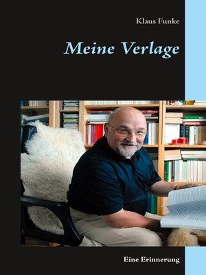 cover image of Meine Verlage