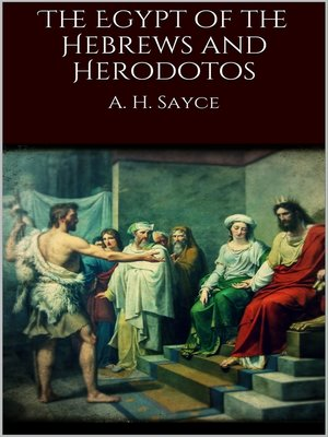 cover image of The Egypt of the Hebrews and Herodotos