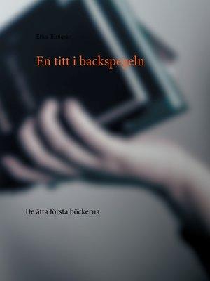 cover image of En titt i backspegeln