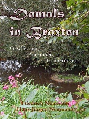 cover image of Damals in Broxten