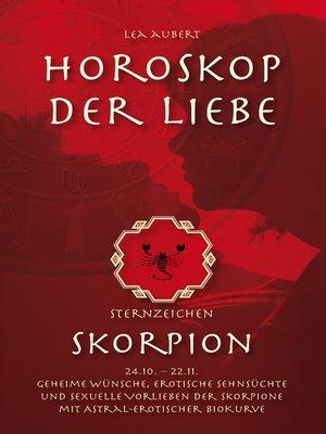 cover image of Horoskop der Liebe – Sternzeichen Skorpion