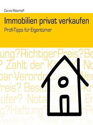 cover image of Immobilien privat verkaufen