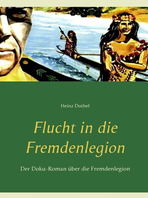cover image of Flucht in die Fremdenlegion