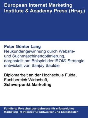 cover image of Neukundengewinnung durch Website- und Suchmaschinenoptimierung