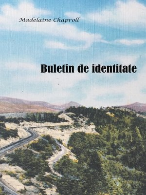 cover image of Buletinul de identitate