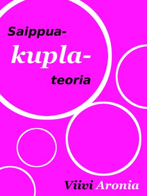 cover image of Saippuakuplateoria