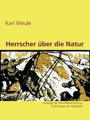 cover image of Herrscher über die Natur
