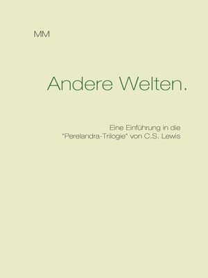 cover image of Andere Welten.