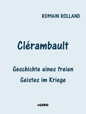 cover image of Clérambault