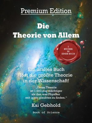 cover image of Die Theorie von Allem