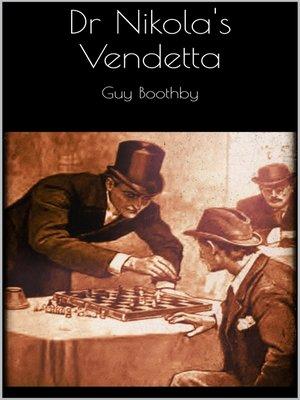 cover image of Dr Nikola's Vendetta