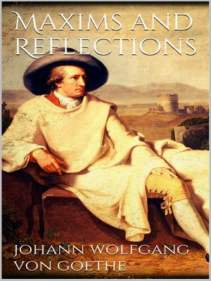 cover image of Maxims and Reflections