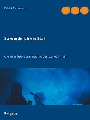 cover image of So werde ich ein Star