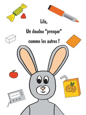 """cover image of Lilo, un doudou """"presque"""" comme les autres !"""