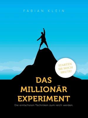cover image of Das Millionär Experiment