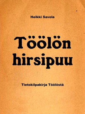 cover image of Töölön hirsipuu