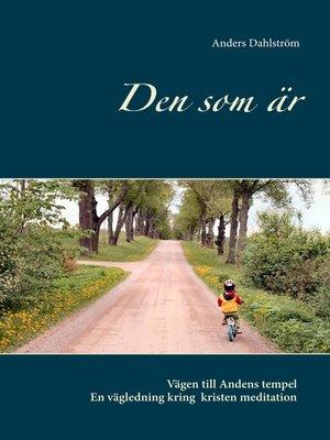 cover image of Den som är