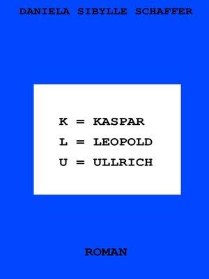 cover image of Kaspar Leopold Ullrich
