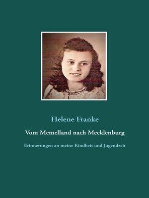 cover image of Vom Memelland nach Mecklenburg