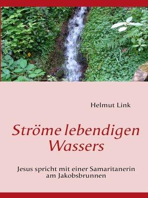 cover image of Ströme lebendigen Wassers