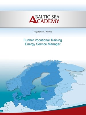 cover image of Further Vocational Training Energy Service Manager