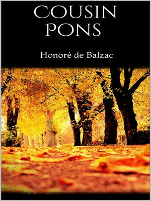 cover image of Cousin Pons