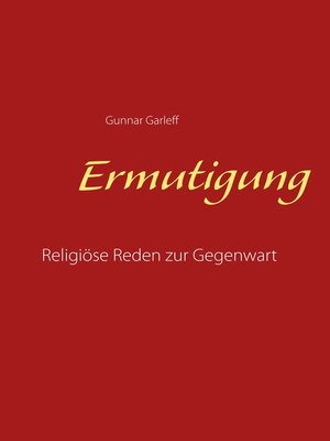 cover image of Ermutigung