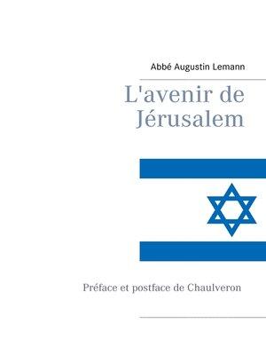 cover image of L'avenir de Jérusalem